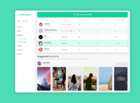 Instagram Story Social Listening - List Page