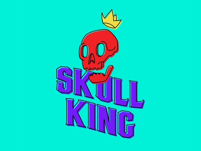 Skull King - Type exploration king skull design typeface vector type illustration typography