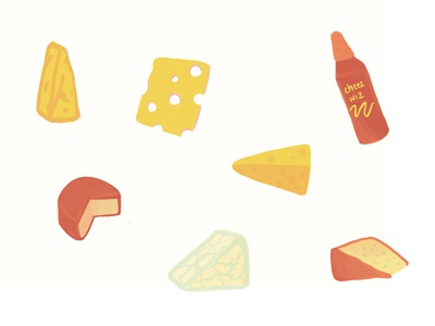 Sweet dreams are made of cheese.