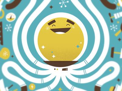 Octonaut  rocket ship space kids art childrens illustration illustration
