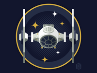 Star Wars Ship Shapes: Tie Fighter