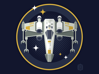 Star Wars Ship Shapes: X-Wing