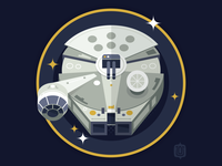 Star Wars Ship Shapes: Millennium Falcon
