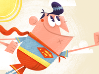 Superman detail