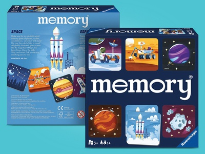 Space Themed Memory Game