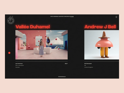 Design Club website webdesign web ux ui design ui typography landing page interface interaction design animation after effect