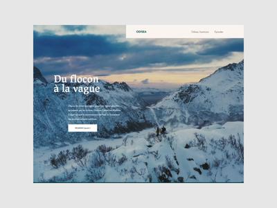 Odisea - Homepage