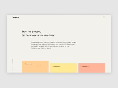Janguru ux interaction design interface design branding animation after effect web ui website