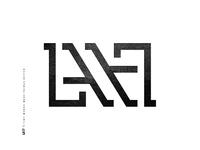 LA17 ambigram