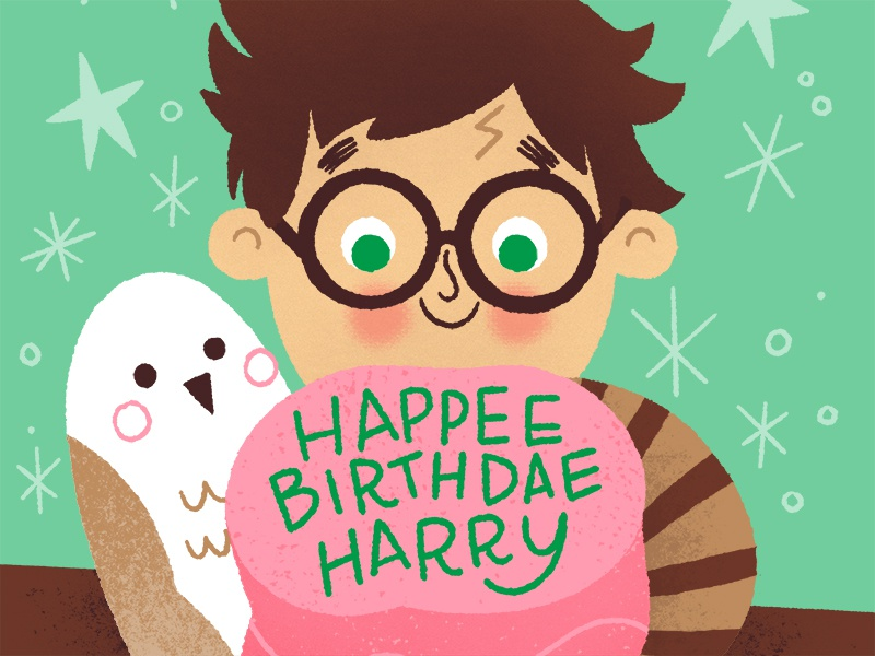 Happee Birthdae Harry By Joel And Ashley Selby Dribbble