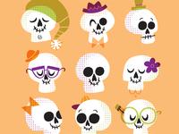 Snazzy Skulls