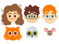 Harry Potter Heads