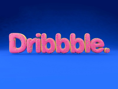 Dribbble Donut