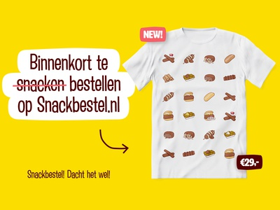 Snackbestel merchandise (just for fun)