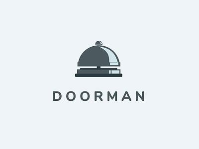 Doorman Bell Icon icon metal bell doorman