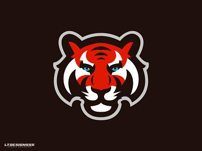 Kitty sportsbranding graphicdesign branding illustration esports bold identity logo design tigers tiger sports branding sports mascot logo