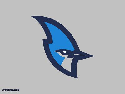 Blue Jay (2) mascot blue jays birds bluejay sports logo sports identity sports design sports branding sports logo