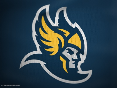 Warrior illustration branding logo design sports mascot sports design helmet wings mercury hermes warrior sports logo sports mascot logo