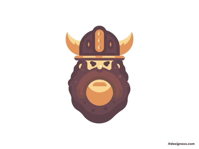 Viking vikings vector mascot design flat designs mascot character daily drawing daily illustration daily design flat helmet warrior viking illustration character flat art flat design mascot
