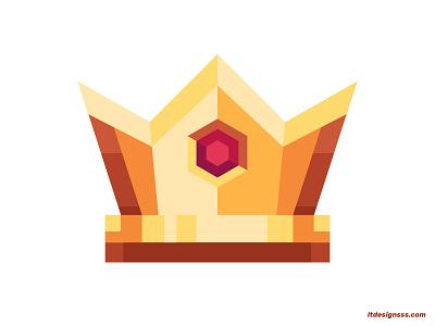Crown design designer jewelry jewels king illustrations illustration art vector crowns 2d flat art flat design colours mark logo daily illustration illustration crown