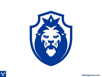 Lion Crest logo design bold brand sports identity sports branding flat design lions illustration sports design sports identity crest mascot sports logo