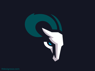 Ram simple logo flat design sports identity sports branding animal mascot sports rams illustration sports illustration sports design sports logo goat logo ram