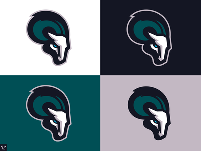 Ram (Colour Guide) bold esports sports branding sports identity chargers ram head mascot sports logo shapes simple flat design illustration sports design ram sports logo ram logo ram logo sports