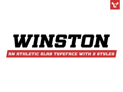 Winston Typeface lettering typeface designer atletic athletic font slab serif font custom type slab slab serif font design winston type design type fonts sports typeface design font typeface