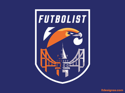 Futbolis Logo mascot bold identity esports logos hawks badge logo flat design illustration badge design badge logo hawks sports identity sports design sports logo turkey esports logo logo esports