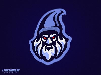 Wicked Wizard identity branding brand illustrator illustration gaming gaming.gamers sports esports