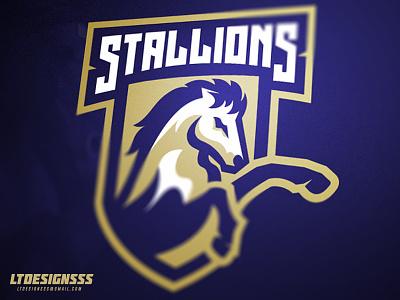 Stallions sportsbranding sportslogo identity branding brand designer design graphicdesign bold stallions stallion mascot logo sports esports