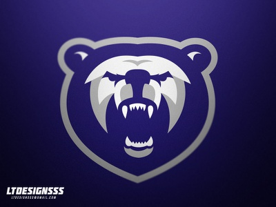 Bear animal bears ltdesignsss bear bold sportsidentity sportslogo sportsbranding identity brand gamers gaming esprots logo sports