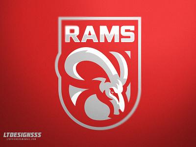 Rams (part 1 ) sportslogo sportsdesigns badge rams ram brand branding identity sportsidentiy sportsbranding logo sports