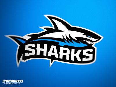 Sharks ltdesignsss sharks shark mascot identity sportsidnetity brand sportsbranding logo sports