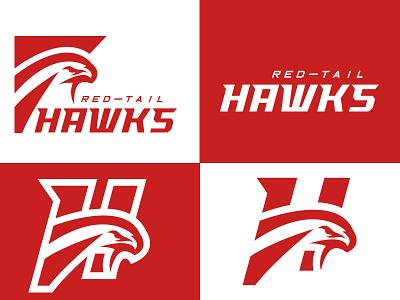 Hawks Identity. logos graphic branding identity sportsbranding sportsidentity hawk hawks logo sports