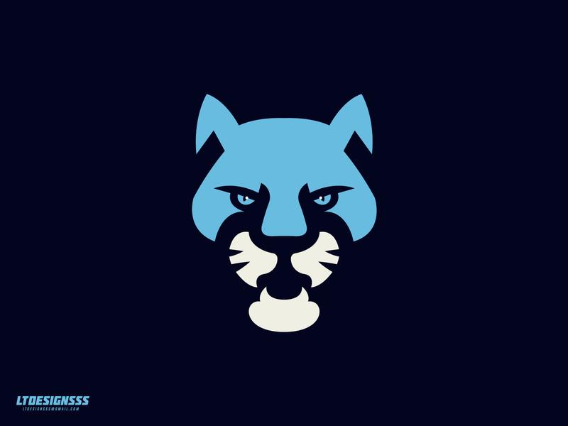 Cougar 2 sportslogo brand branding identity graphicdesign bold sports branding sports logo sports identity sports design sport illustrator illustration designer design mascot logo sports