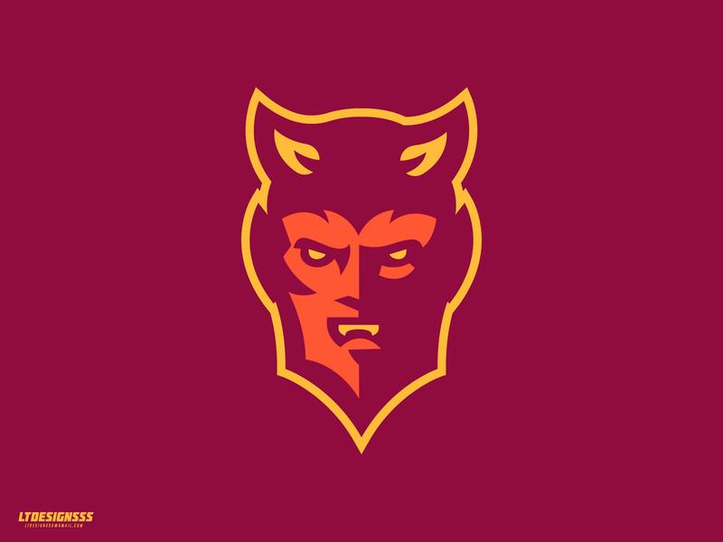 Devil typography gaming esports identity illustration bold designer logo design design studio graphicdesign man horns logotype sports logo devils devil sportsidentiy sportsbranding mascot logo