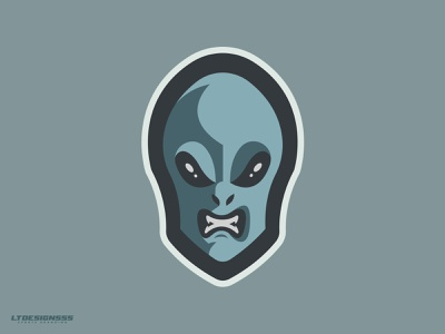 Mr. Grey cute fun gamers gaming mr grey grey sport icon mark branding illustrator illustration mascot logo alien
