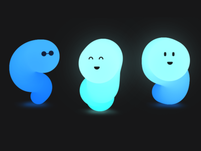 Unused Blobs bubbles character abstract