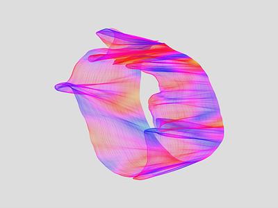 Wave colors gradient design organic