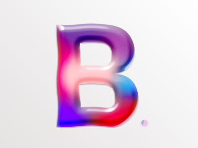 B jelly letter 36dayoftype type