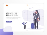 Creative Landing Page.
