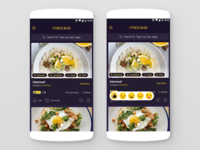 Fitness Diet App (Home Screen)