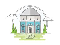 Landmarks of Turkey - The Green Tomb