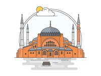 Landmarks of Turkey - Hagia Sophia