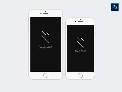 iPhone 6 & iPhone 6 Plus Mockup iphone6plus iphone6 mockup psd freebie apple