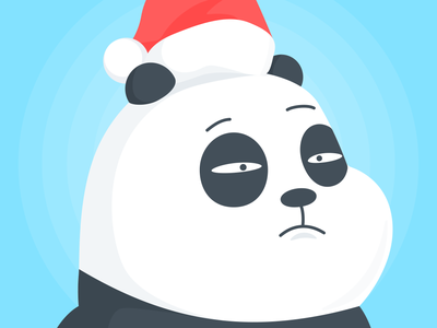 Christmas In Chengdu avatar animal illustration christmas chengdu panda