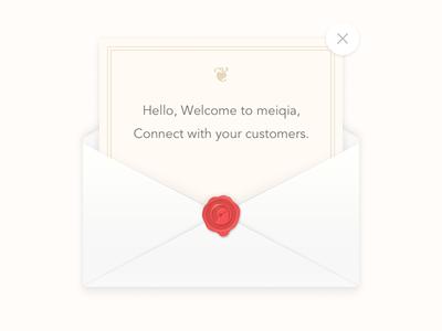 Meiqia Wax Seal wax envelope invite wax seal