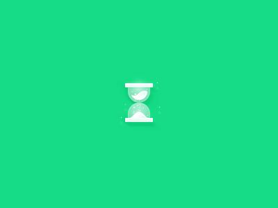 Hourglass waiting time icon sandglass hourglass
