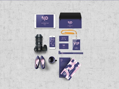 BID & IBA Helsinki typography logo design helsinki event packaging branding